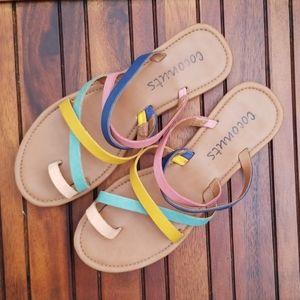 Coconuts Women's Cabana Slide Sandals
